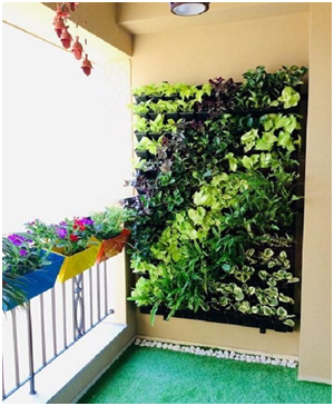 Balcony wall