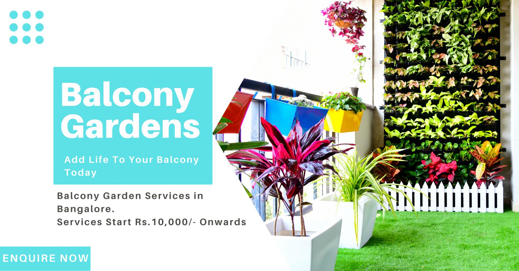 Balcony Gardens Bangalore