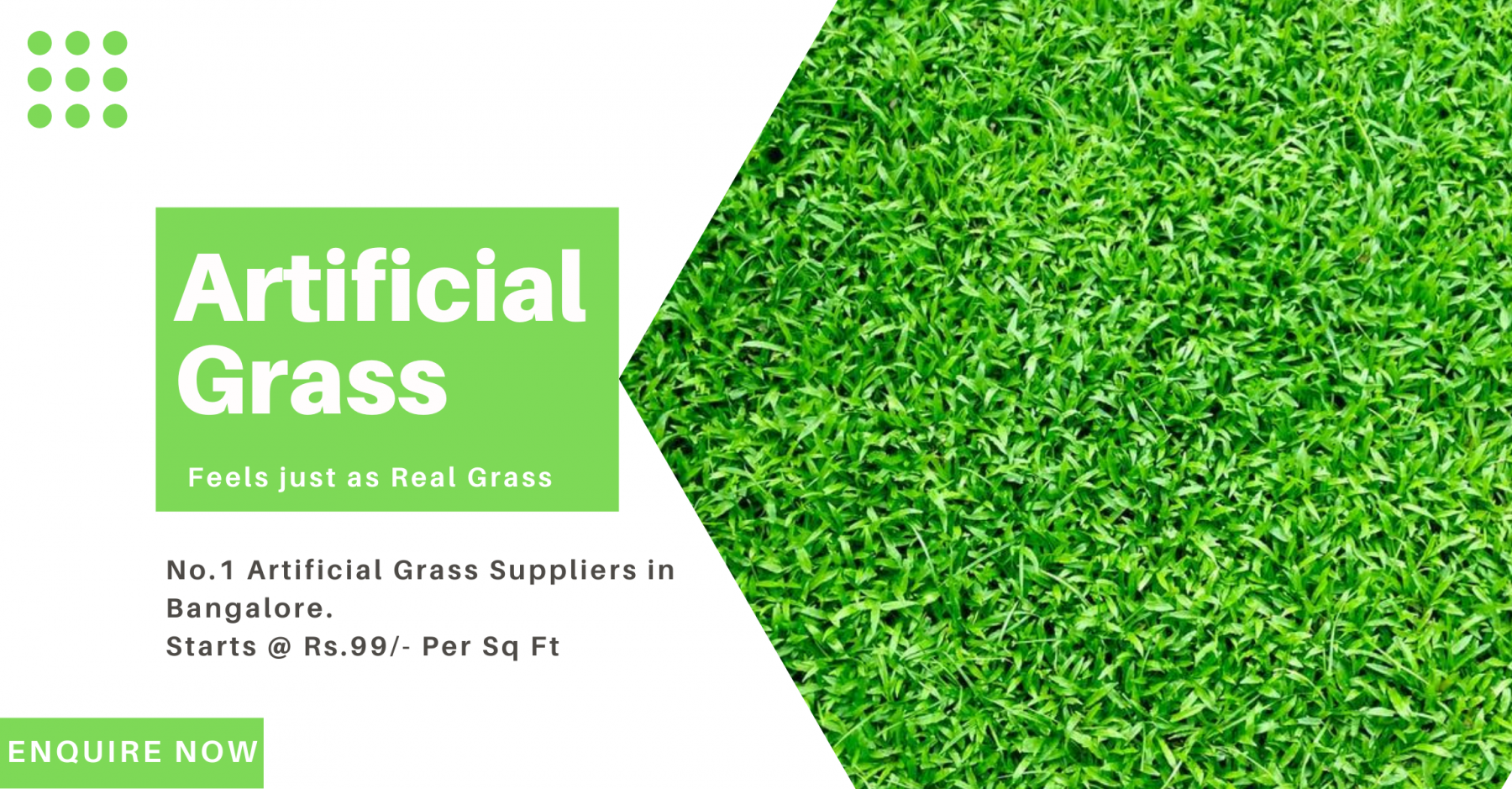 Artificial grass suppliers in bangalore