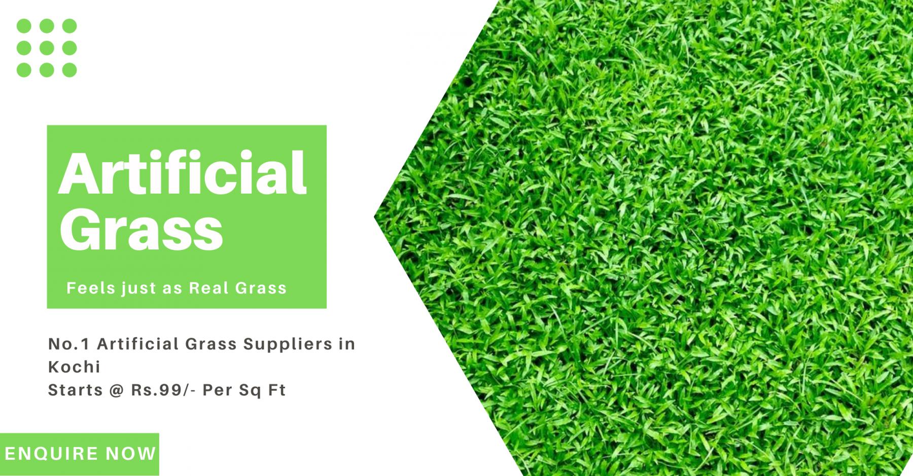Artificial grass suppliers kochi